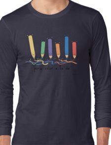 Ponle color a tu dia Long Sleeve T-Shirt