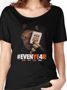Giants Wild Card: #EVENYE4R Women's Relaxed Fit T-Shirt