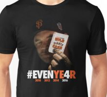Giants Wild Card: #EVENYE4R Unisex T-Shirt