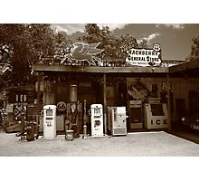 Route 66 - Hackberry General Store Photographic Print