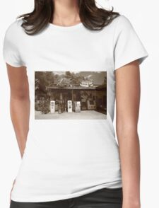 Route 66 - Hackberry General Store Womens Fitted T-Shirt