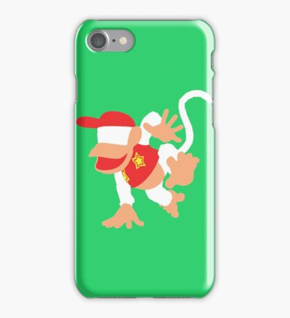 Diddy Kong Vector iPhone Case/Skin