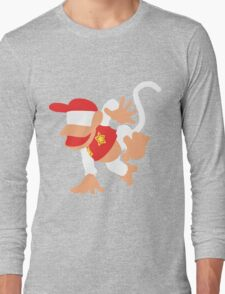 Diddy Kong Vector Long Sleeve T-Shirt
