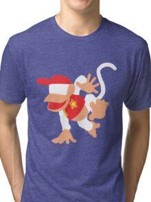 Diddy Kong Vector Tri-blend T-Shirt