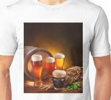 Beer and Draft Beer Unisex T-Shirt