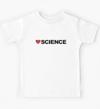 Love Science Kids Tee