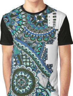 Zentangle City Rome Graphic T-Shirt