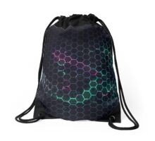 Abstract Vortex of Polygons Drawstring Bag