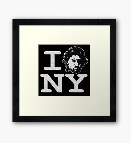 I ESCAPE NY Framed Print