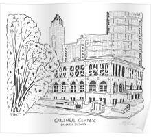 Chicago Cultural Center Maze Poster