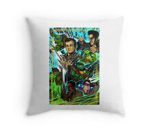 Teenage Mutant Ninja Turtles/Ghostbusters Throw Pillow