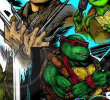 Teenage Mutant Ninja Turtles/Ghostbusters Sticker