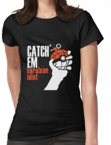 Catch em Womens Fitted T-Shirt