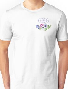Big/Little/GBig Yellow Floral Unisex T-Shirt