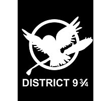 district 9 3/4 Photographic Print