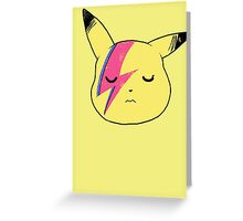 Pika Stardust Greeting Card