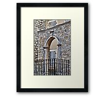 Gate and Arch, Kotor, Montenegro Framed Print