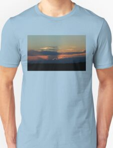 Gray Blue Sunset T-Shirt