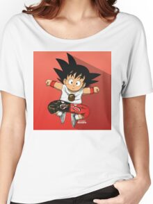 Goku Bape Women's Relaxed Fit T-Shirt