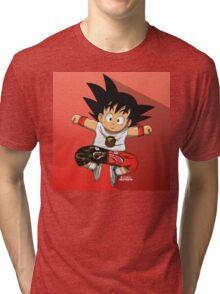 Goku Bape Tri-blend T-Shirt