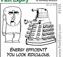 Cartoon : Daleks Gone Green by cartoon