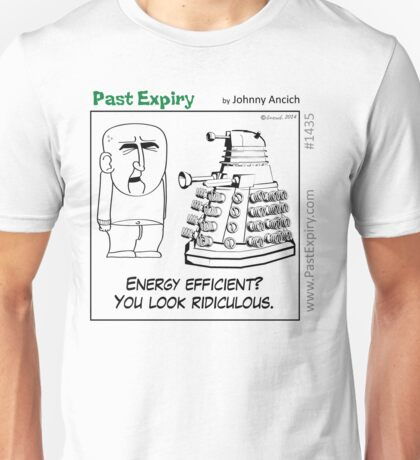 Cartoon : Daleks Gone Green Unisex T-Shirt