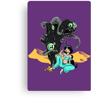 Whole New Cosmic Horror Canvas Print