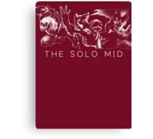 The Solo Mid Canvas Print