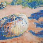 Pumpkin Lights (pastel) by Niki Hilsabeck