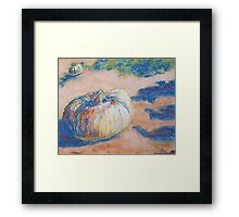 Pumpkin Lights (pastel) Framed Print