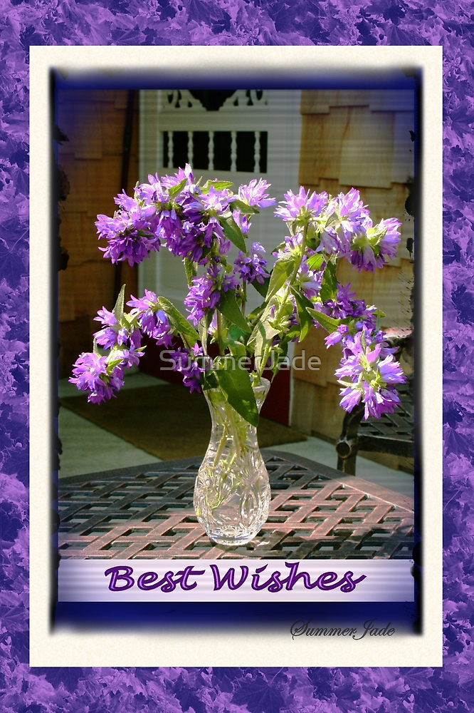 Best Wishes ~ Cottage Bouquet by SummerJade