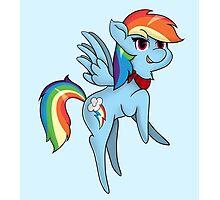 Chibi Rainbow Dash Photographic Print