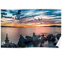 English Bay Sunset Poster
