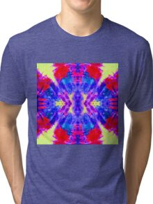 Sunrise deep ocean reflection Tri-blend T-Shirt