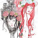 Snow White and Rose Red by FaerieMajikk