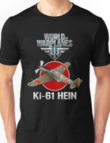 World of Warplanes Ki-61 Hein Unisex T-Shirt