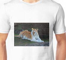 Endangered White Tiger Unisex T-Shirt