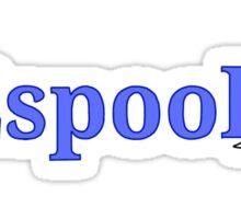 #2spooky Sticker