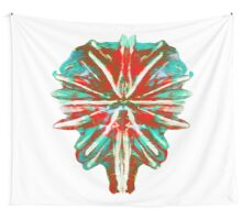 Earth in lava & Ice Wall Tapestry