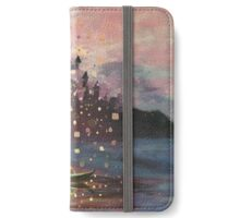 Tangled Lantern Painting iPhone Wallet/Case/Skin