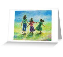 SUNSHINE SISTERS Greeting Card