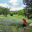 Skipping Through the Bluebonnets With Bart!  by Heather Friedman