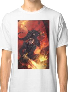 BBC Merlin: The Dragon Rises (cover) Classic T-Shirt
