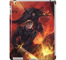 BBC Merlin: The Dragon Rises (cover) iPad Case/Skin