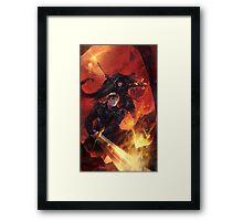 BBC Merlin: The Dragon Rises (cover) Framed Print