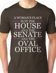 House, Senate, and Oval Office Unisex T-Shirt