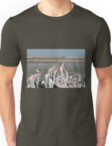 Pelicans and Fish Unisex T-Shirt