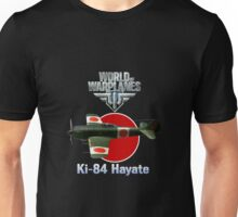 World of Warplanes Ki-84 Hayate Unisex T-Shirt