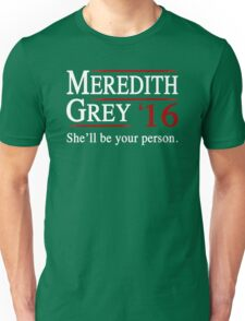 Meredith Grey 2016 Unisex T-Shirt