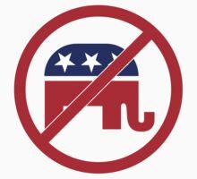 No Republicans Vote Democrat T-Shirt